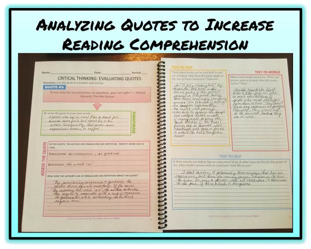 Analyzing Quotes Captivating Critical Thinking Analyzing Quotes  The Master Classroom